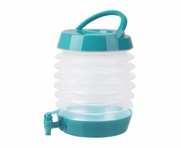 Faltbarer Wasserspender 5,5 Liter, Petrol