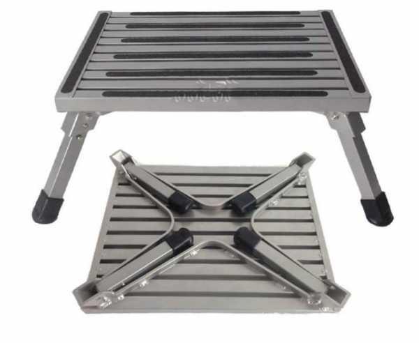 Klappbare Aluminium Trittstufe