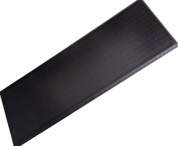 Solarmodul 100 Full Black - 12V/100W, 1200 x 545 x 35mm - Schwarz beschichtet