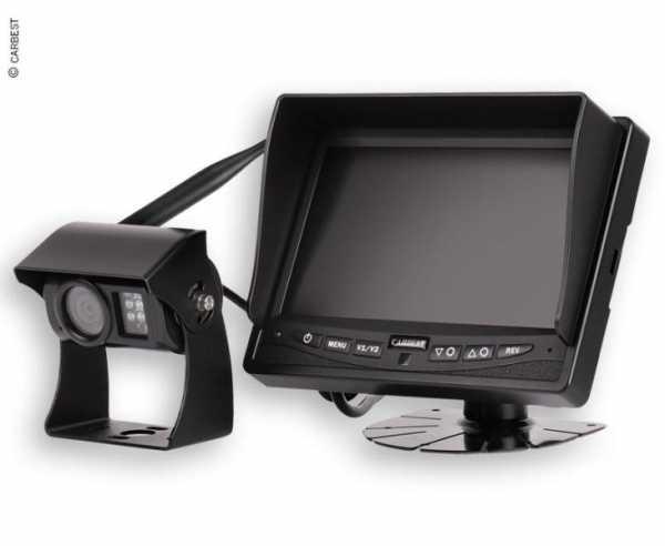 CARBEST - Digitales 12V-Funk-Rückfahrkamera-System