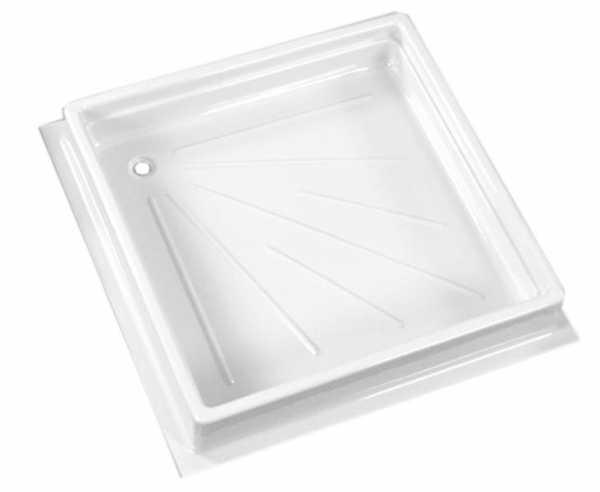 Duschwanne 600x600x102mm, weiß