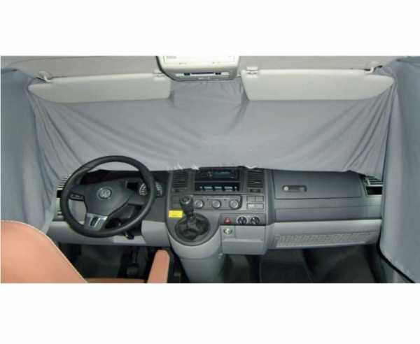 VW T5 Fahrerhaus Sichtschutzgardine grau 1 teilig ab 04