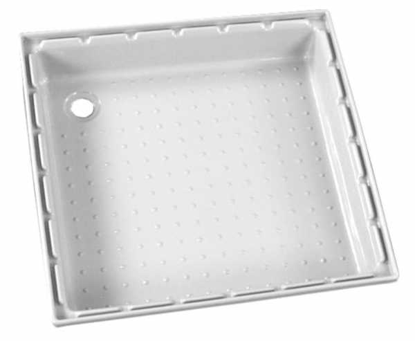 Duschwanne aus ABS, 650x650 mm, weiß