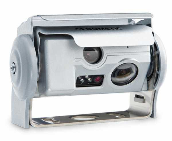 Farb-Doppelkamera für Rückfahrsystem RVS 594 und 794 in silber