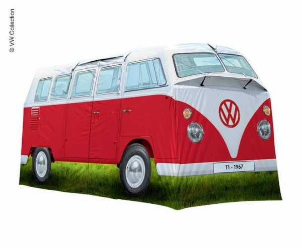 Campingzelt VW Collection T1 rot