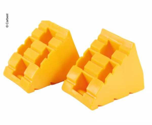 Blockierkeil, 2er Set, gelb