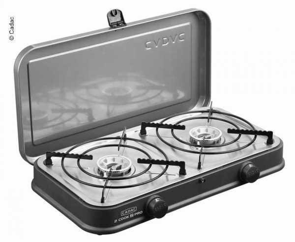 2-Cook 2 Pro 2-Flamm-Kocher/Grill 50mbar, 2 Brenner