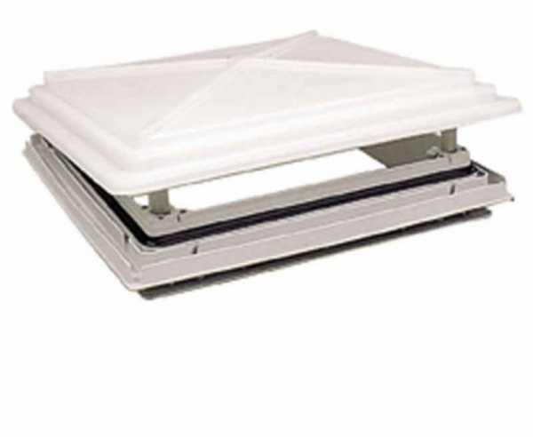 Ersatzglas für Dachhaube 50x50cm