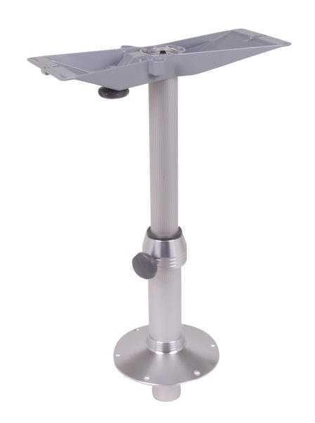 Alu-Tischsäule mit Gasdruckdämpfer