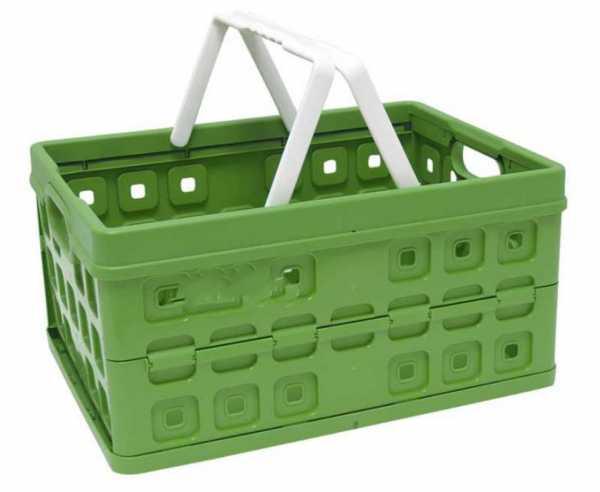 Klappbox 32L naturgrün