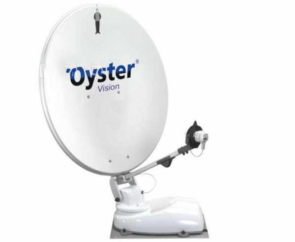 Oyster Vision Sat-Anlage, vollautomatisch