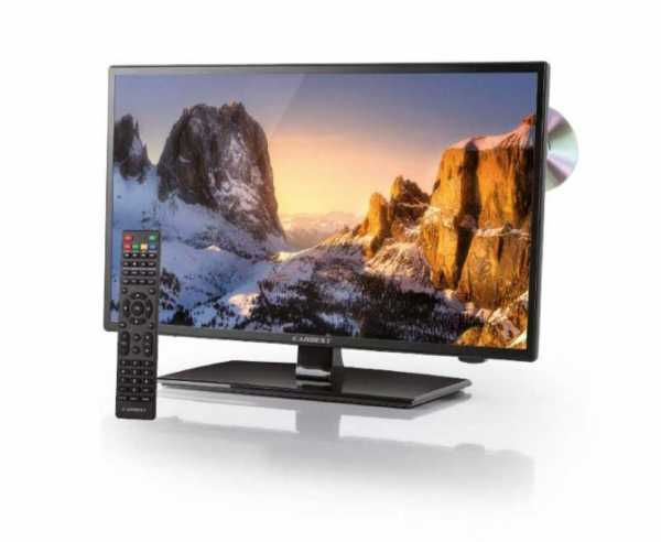 12V Fernseher LED 18,5', Weitwinkel LED TV