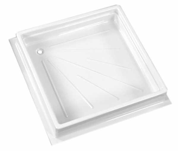 Duschwanne, 680x680x102 mm, Farbe weiß