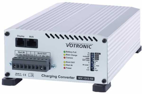Ladewandler 12V/50A 12V Ladegerät und Booster kombiniert VCC 1212-50
