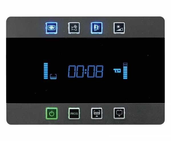 Anzeigesystem PC380, Komplettsystem, 12V schwarz