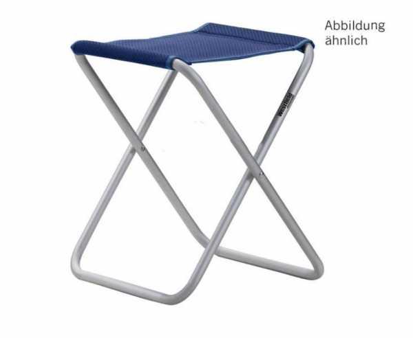 Campinghocker Stool, petrol blau, belastbar bis 100kg
