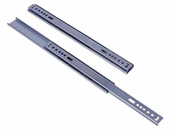 Schubladenführung 278mm Paar