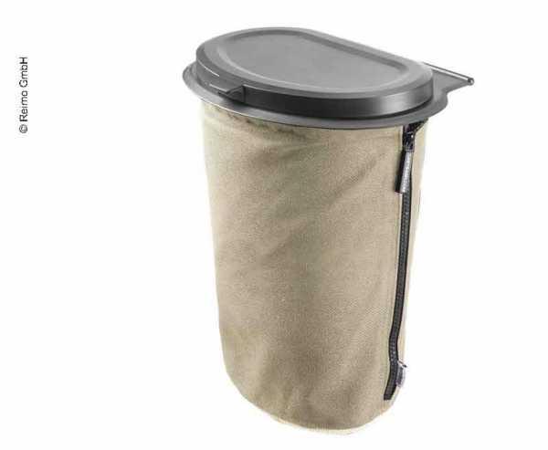 Flextrash Mülleimer 9 Liter creme-beige