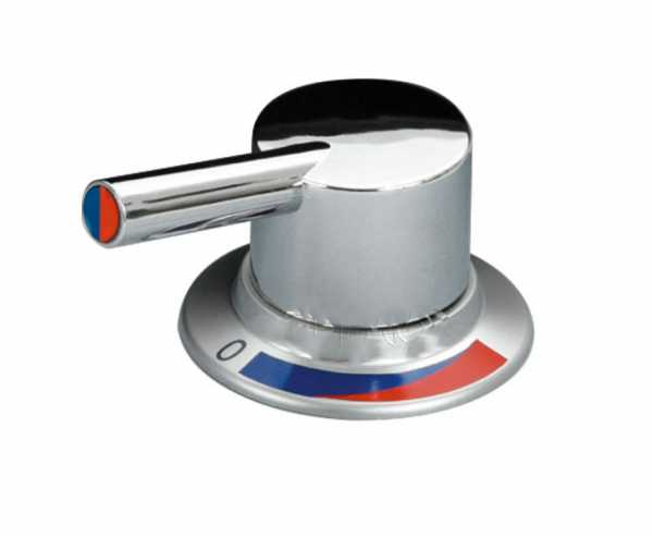 Einhebelmischer Trend A chrom 12mm UniQuick +Schalter Warm-/Kaltwasser
