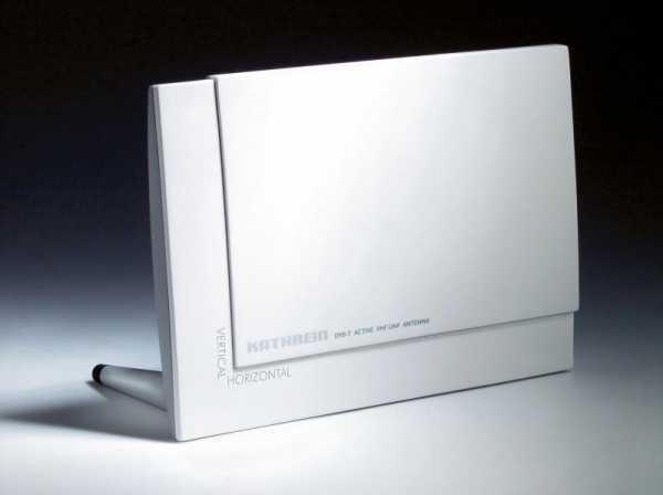 DVB-T-Indoor-Antenne, Stromversorgung durch Receiver BZD 30 ingeführt