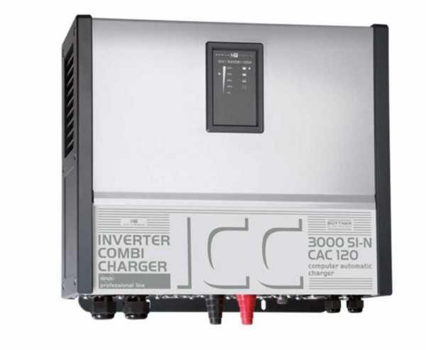 Ladegerät mit Wechselrichter 3000Si-N/120A inkl. Fernbedienung