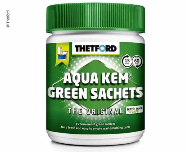 Aqua Kem Green Sachets, 15x30g in der Dose