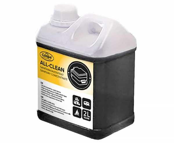 All-Clean Sanitärkonzentrat 2 Liter, 1:100 ml (20 Liter)