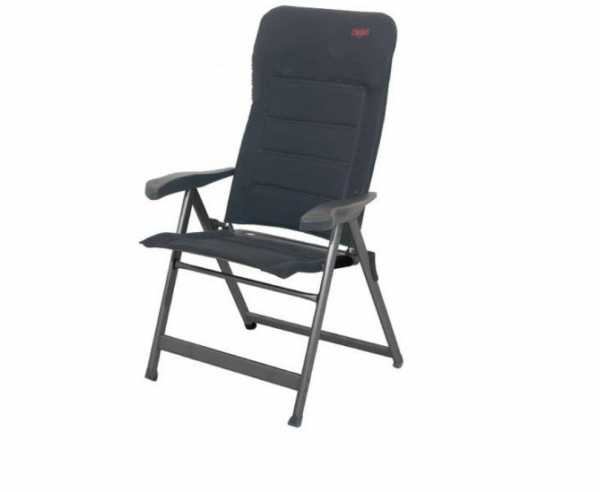 Campingsessel mit ergonomischer Rückenlehne, gepolsterter 3D Air-Deluxe Stoff