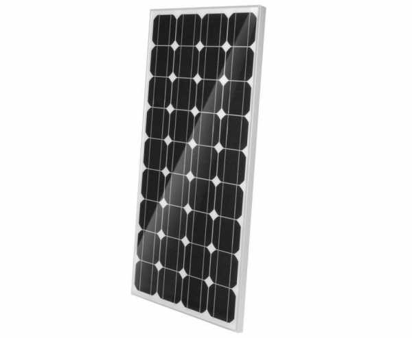 Solarmodul CB 100 - 12V/100W, 1200 x 550 x 35mm mit solidem Aluminiumrahmen