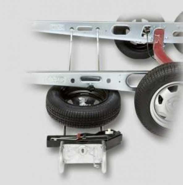 Alko Ersatzradhalter für Breitreifen Typ E