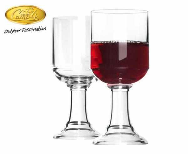 Polycarbonat Gläser St. Tropez Rotwein 320ml, 2er Set