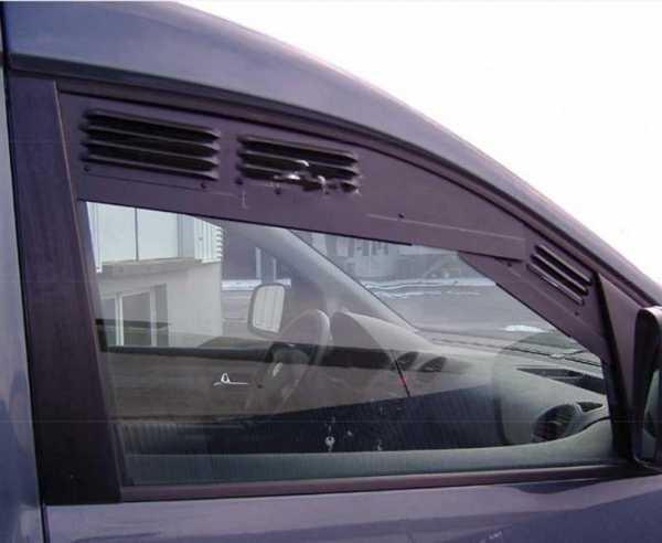 Fahrerhaus Lüftungsgitter: Be- und Entlüftung für Fahrerhaustüren-Fenster