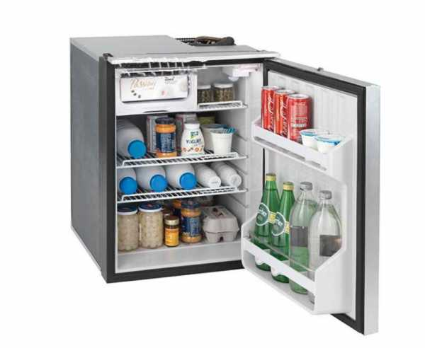 Webasto Isotherm EL 49 12/24V silber, 49 Liter Kompressor Kühlschrank