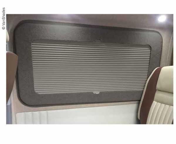 Wohnraumverdunkelungsrollo VW T5/T6 links hinter hermo grau