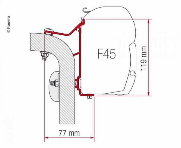 F.Adap.F45 Hymer Van/B2