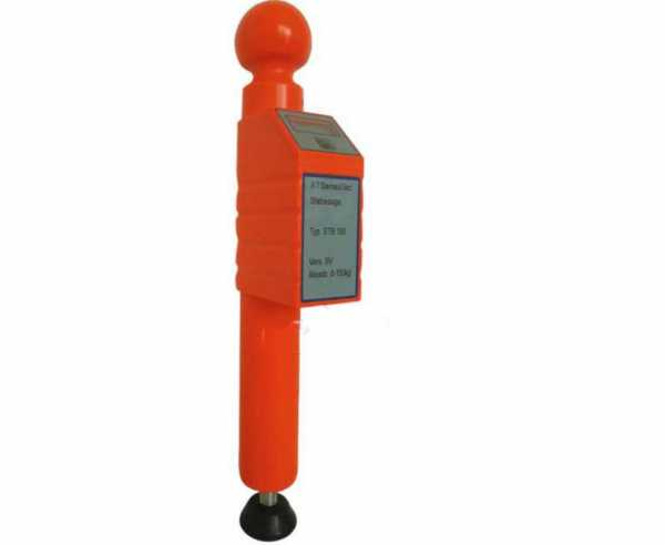 Stützlastwaage digital STB 150 bis max. 150kg, Farbe orange