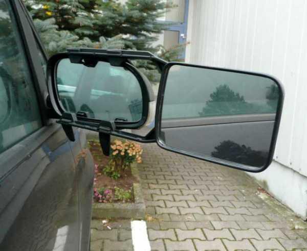 Wohnwagenspiegel zum Aufklemmen für links und rechts